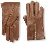 Portolano Women's Leather Glove with Zipper