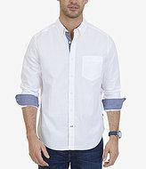 Nautica Classic Fit Stretch Cotton Long-Sleeve Shirt