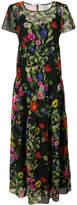 Blugirl poppy print maxi dress