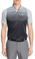Tiger Woods Golf Apparel by Nike Men's Nike Velocity Max Sphere Stripe Golf Polo
