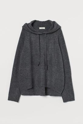H&M Fine-knit hoodie