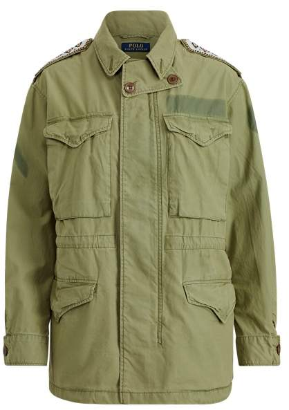 Steer Head Military Jacket by Ralph Lauren