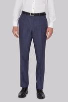 Hardy Amies Indigo Linen Pants