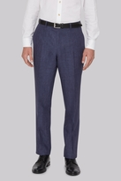 Hardy Amies Indigo Linen Trousers