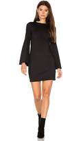 Eight Sixty Bell Sleeve Dress in Black