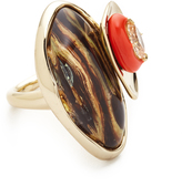 Alexis Bittar Wood Grain Ring