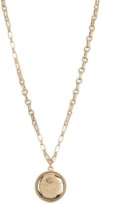 Lauren Ralph Lauren Crest Pendant Necklace