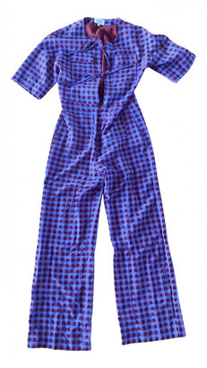 Paloma Wool Purple Viscose Jumpsuits