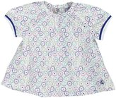 Petit Bateau 'Fino' Printed Blouse (Baby) - Multi-6 Months