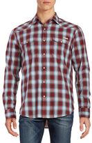 Lucky Brand Santa Fe Western Snap Button Shirt