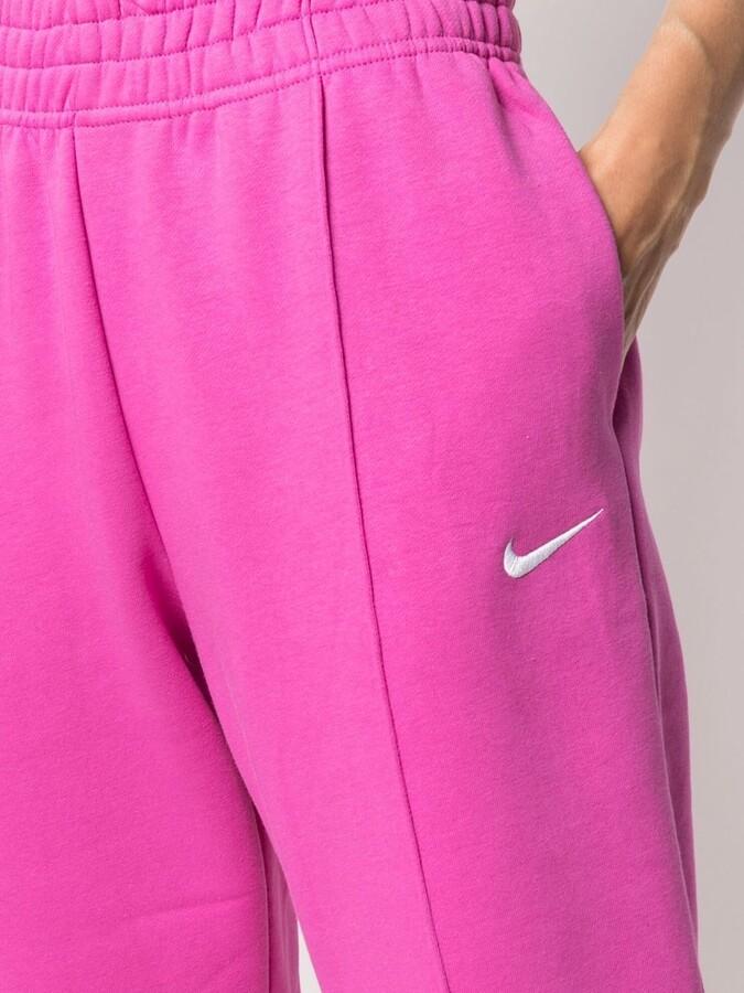 Thumbnail for your product : Nike Logo-Print Leg Track Pants