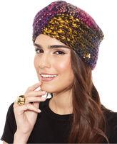 Betsey Johnson Hat, Rainbow Turban