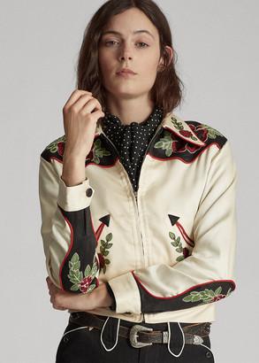 Ralph Lauren Embroidered Western Jacket