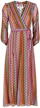 Diane von Furstenberg Bree printed silk-chiffon midi dress