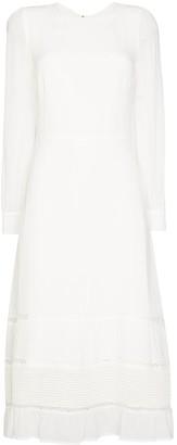 Reformation Valerie tiered midi dress