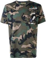 Valentino camo-print T-shirt