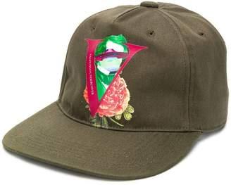 Valentino x undercover army green ufo cap