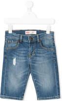 Levi's Kids distressed denim shorts
