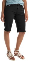 Jag Willa Twill Bermuda Shorts (For Women)