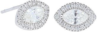Nephora 14K 0.53 Ct. Tw. Diamond Marquise Halo Studs