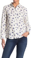 Thumbnail for your product : Velvet Heart Lynora Long Sleeve Button Down Shirt