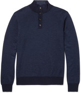 Hackett - Wool, Silk And Cashmere-blend Sweater