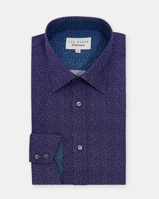 Ted Baker Spot Print Cotton Endurance Shirt