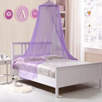 Colgate Kids Collapsible Wire Hoop Canopy Viv + Rae Color: Purple