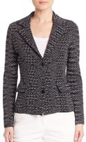 M Missoni Two-Button Spacedye Blazer