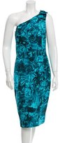 Michael Kors Silk One Shoulder Cocktail Dress w/ Tags