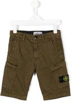 Stone Island Junior - cargo shorts - kids - Cotton/Spandex/Elastane - 2 yrs