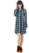 Alternative Timberwood Yarn Dye Flannel Shirt Dress