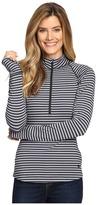 Mountain Hardwear Butterlicious Stripe Long Sleeve 1/2 Zip Women's Long Sleeve Pullover