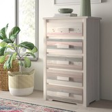 Abella 5 Drawer Chest Loon Peak Color: Lacquered
