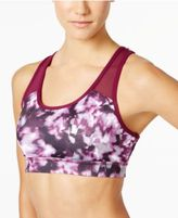 Ideology Printed Crisscross-Back Mid-Impact Sports Bra, Created for Macy's