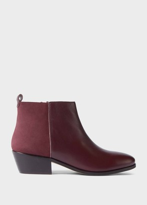 Hobbs Alice Leather Ankle Boots