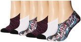 Converse 6-Pack Made for Chucks Punk Collage Sublimation Women's No Show Socks Shoes