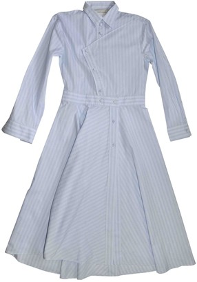 Cédric Charlier White Cotton Dresses