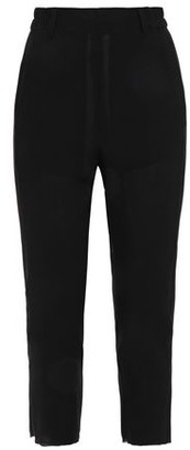 Ann Demeulemeester Cropped Wool-crepe Tapered Pants