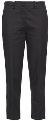 Love Moschino Cropped Cotton-blend Jacquard Tapered Pants