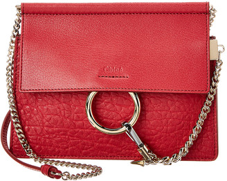 Chloé Faye Mini Leather Shoulder Bag