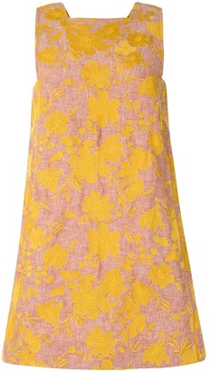Karen Walker Marigold floral-print mini dress