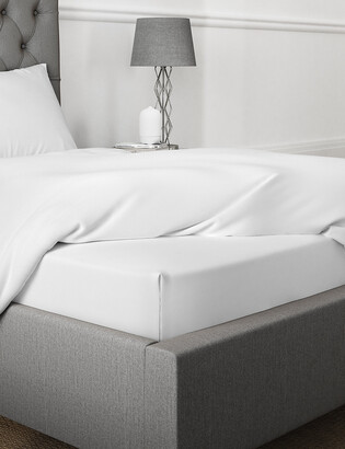 Marks and Spencer Percale 300 Thread Count Deep Fitted Sheet