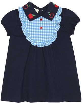Gucci Kids Baby stretch-cotton dress
