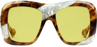 Gucci Square Framed Sunglasses