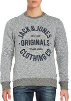 Jack and Jones Cotton Logo Sweatshirt