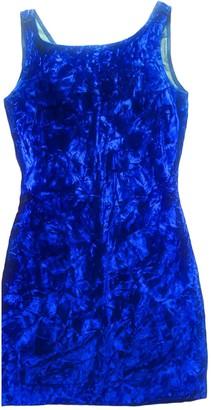 Non Signã© / Unsigned Non SignA / Unsigned Blue Velvet Dresses