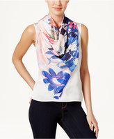 Echo Floral Square Scarf