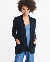 Abercrombie & Fitch Drape Front Cardigan