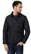 Red Herring Big And Tall Navy Quilted Jacket